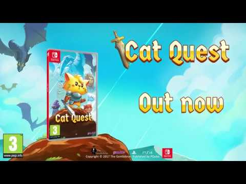 Cat Quest - Switch Physical Launch Trailer