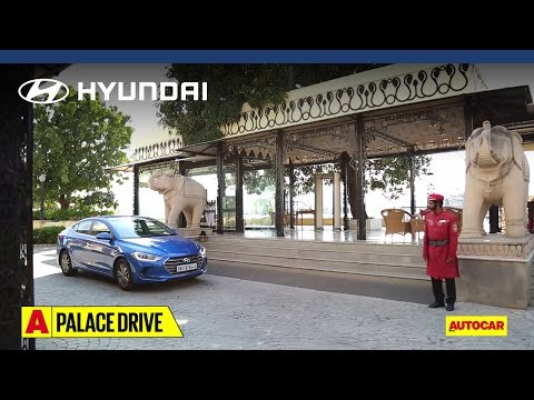 Hyundai | All New Elantra | Palace Drive Part 01 | Autocar India