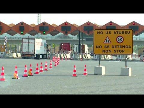 España   Júbilo tras la liberación de cuatro autopistas de pago en Cataluña y Aragón