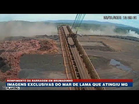 Imagens exclusivas do rompimento da barragem em Brumadinho