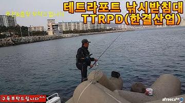 도시어부 TTRPD 테트라포트 받침대(원투낚시.찌낚시)