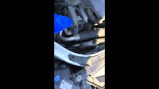 2013 2016 ford fusion easy 10 minute front bulb replacement led upgrade
