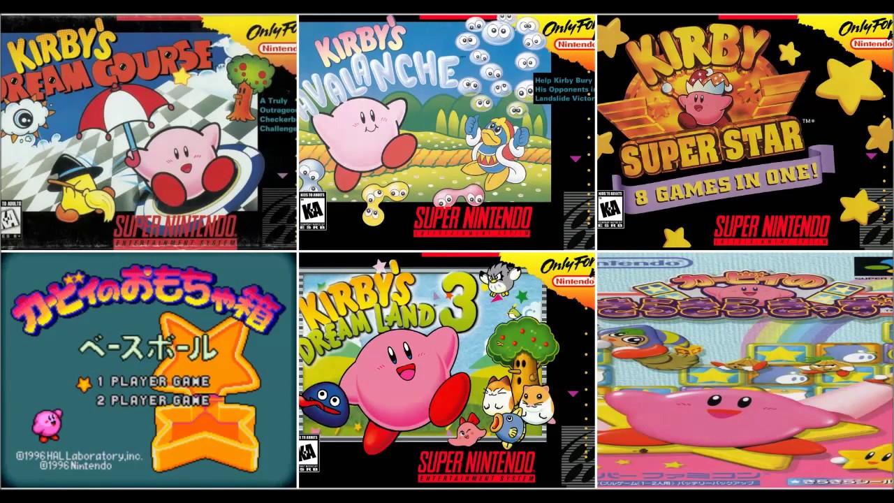 Descargar Todos Los Juegos De Kirby Para Snes Ingles Japones 1