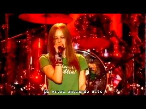 Avril Lavigne - Losing Grip (Live in Dublin 2003) Legendado #HD