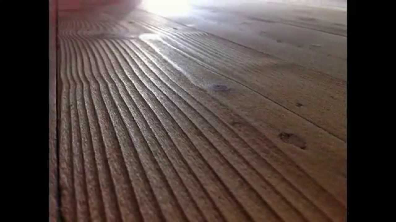 Hardwood Wire Brush Distressing Www Myflooring Com Au Youtube