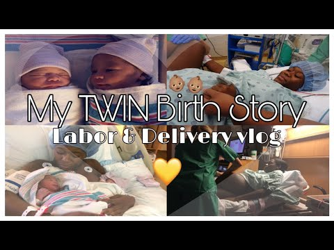 My TWIN Birth Story!! | Labor & Delivery