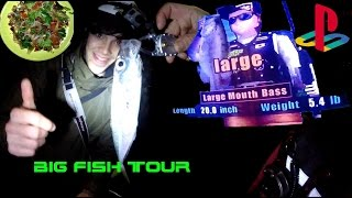 Big fish tour - A pesca di SUGARELLI e BASS RISE game !!