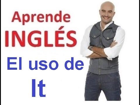 Que significa en ingles it is