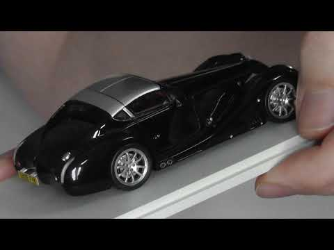 Unboxing/Review Spark 1/43 Morgan Aero 8 Supersports Model Car