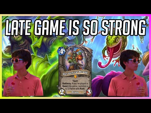 The Late Game Is Insane With This Deck | How To Play Highlander Shaman | Descent Of Dragons