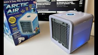 Artic Air Evaporative Portable Air Cooler - Only $30