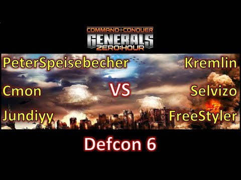 Zero Hour - Defcon 3 games -  PeterSpeisebecher Cmon Jundiyy vs Kremlin Selvizo FreeStyler