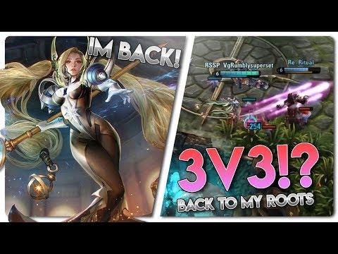 Vainglory 3v3 [Ranked] Gameplay - BACK TO 3V3 RANKED! Celeste |CP| Lane Gameplay