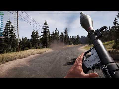 Far Cry 5 4K on GeForce RTX 2080 Ti and Intel i7-9700K - Gameplay Benchmark  Test