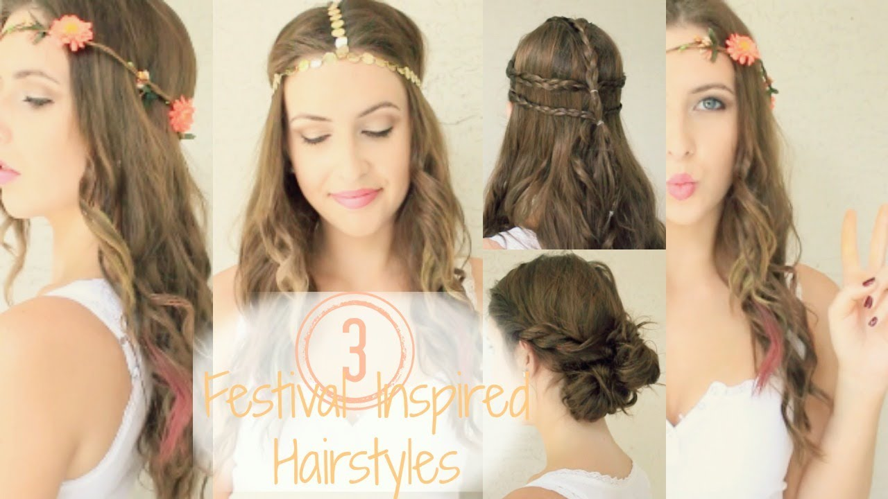 Festival Inspired Hairstyles