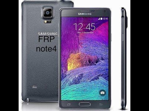 Cómo eliminar cuenta Samsung a note 4 con Android 6 0 1