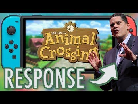 Reggie Talks ANIMAL CROSSING