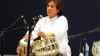 Ustad Zakir Hussain solo - Gurupournima 2018
