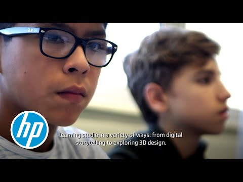 HP Learning Studios in Europe.