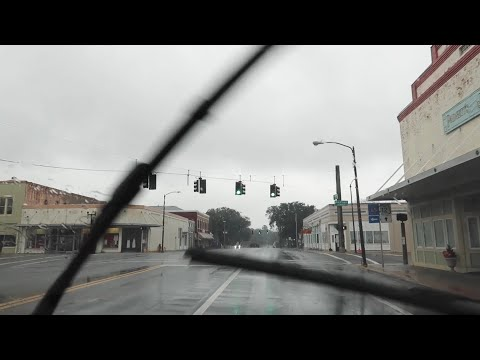 Driving Thru Tornado Watch In Winter 2021 Storm - Car Problems from Alabama Into Florida Panhandle