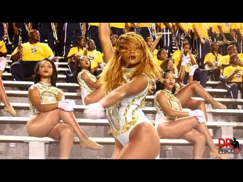 """Southern University Marching Band & Dancing Dolls """"Song Cry"""" by August Alsina (2016)"""