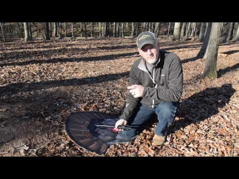 Setting Up the Fanatic XL Turkey Reaping Decoy Turkey Foot Base