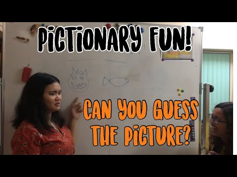 LET'S PLAY PICTIONARY | CHRISTMAS PARTY GAME | Vlog #42