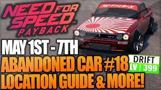 Need For Speed Payback Abandoned Car #18 - Location Guide + Gameplay - NISSAN SKYLINE GTR (DRIFT)!