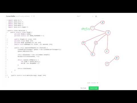 Algorithms: Solve 'Shortest Reach' Using BFS - YouTube