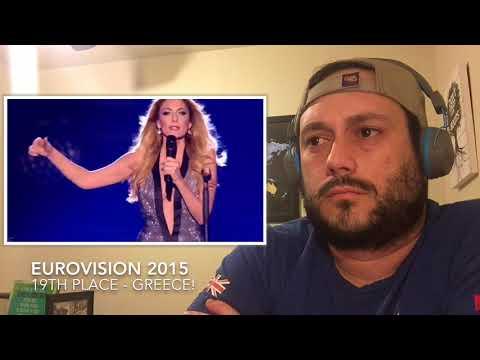 ESC 2015 Reaction Series- 19th Place – GREECE!