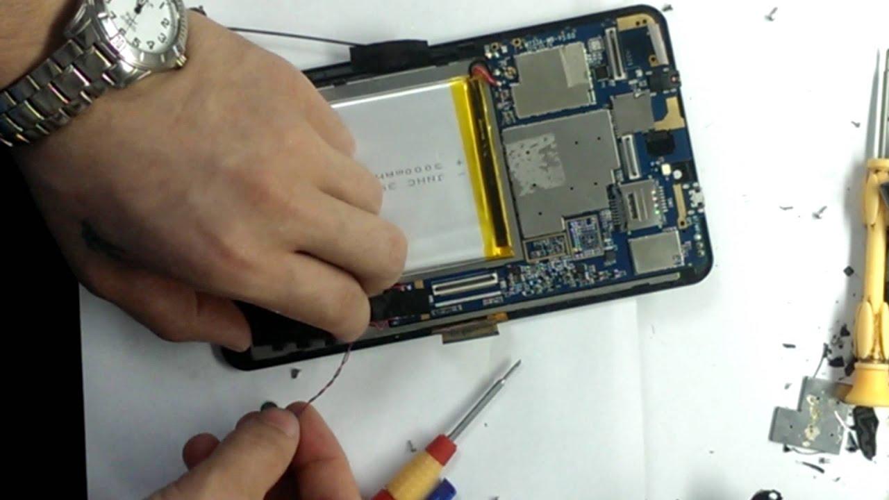 Замена дисплея на планшете Digma HIT | Replacement display Digma .