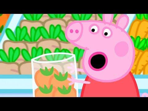 小猪佩奇 | 精选合集 | 1小时 | 购物 🛒 粉红猪小妹|Peppa Pig Chinese |动画