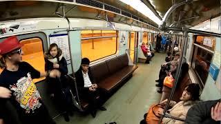 Экстрим в вагоне метро / Subway extreme