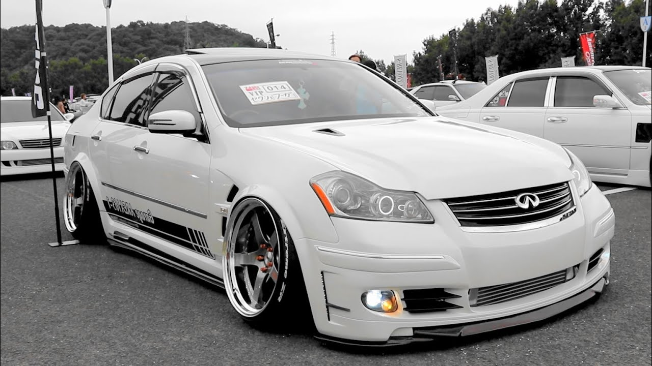 (HD)NISSAN FUGA modified - Zeal CUP 2016 DRESS UP CAR SHOW in JAPAN - YouTube