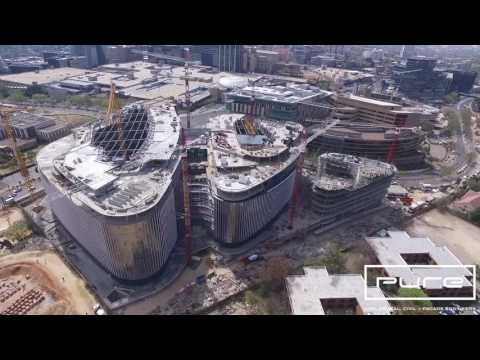 Discovery Sandton Construction Progress 02 09 2016