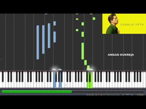 Charlie Puth - River Piano Tutorial By Angad Kukreja