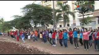 Flash Dance at Sekolah 4 #SaveIndonesia