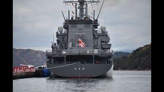【引渡式・自衛艦旗授与式】潜水艦救難艦「ちよだ」