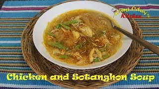 Chicken and Sotanghon Soup