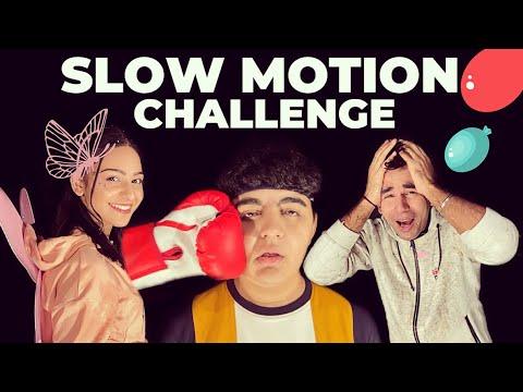 SLOW MOTION CHALLENGE | Rimorav Vlogs - YouTube