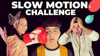 SLOW MOTION CHALLENGE | Rimorav Vlogs