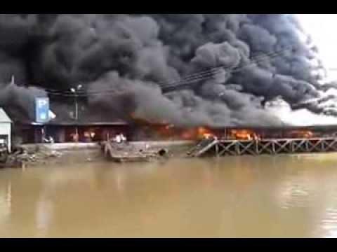 Cháy chợ Thạnh Trị Vựa Trái Cây lớn nhất Mỹ Tho Tiền ...