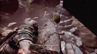 God of War kratos vs Stranger