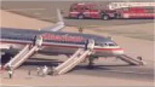LAX Emergency Landing w/ LIVE ATC! (HI-RES) American Airlines Boeing 757