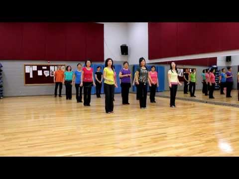 Feeling Hot - Line Dance (Dance & Teach in English & 中文)