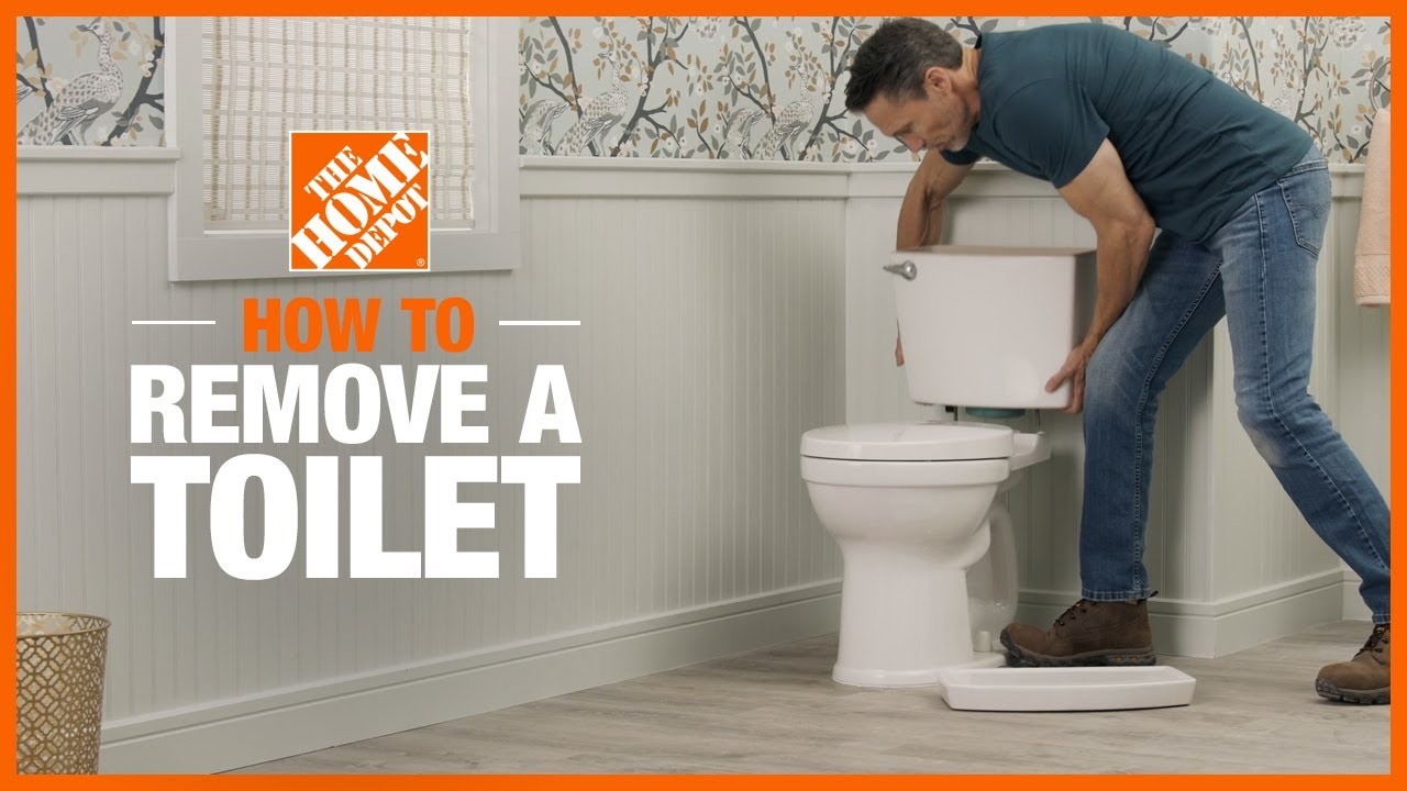 How To Remove A Toilet The Home Depot