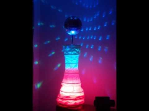 Lampara papel ikea paper lamps ikea bola discoteca youtube - Lampara bola ikea ...