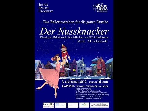 "Junior Ballett Frankfurt & DAS STUDO, Ballettschule in Frankfurt. ""Nussknacker"" Probe."