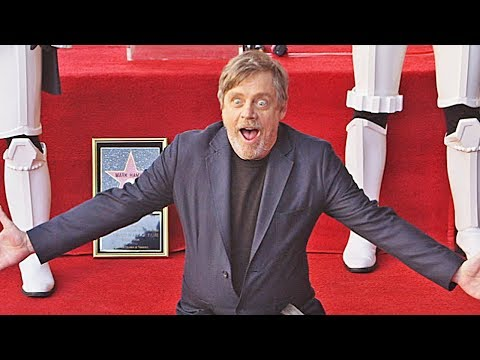 Star Wars: Mark Hamill @ Hollywood Walk of Fame 2018