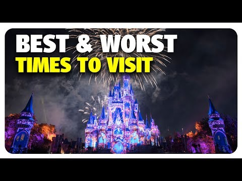 BEST & WORST Times to Visit Walt Disney World | Best & Worst | 07/05/17
